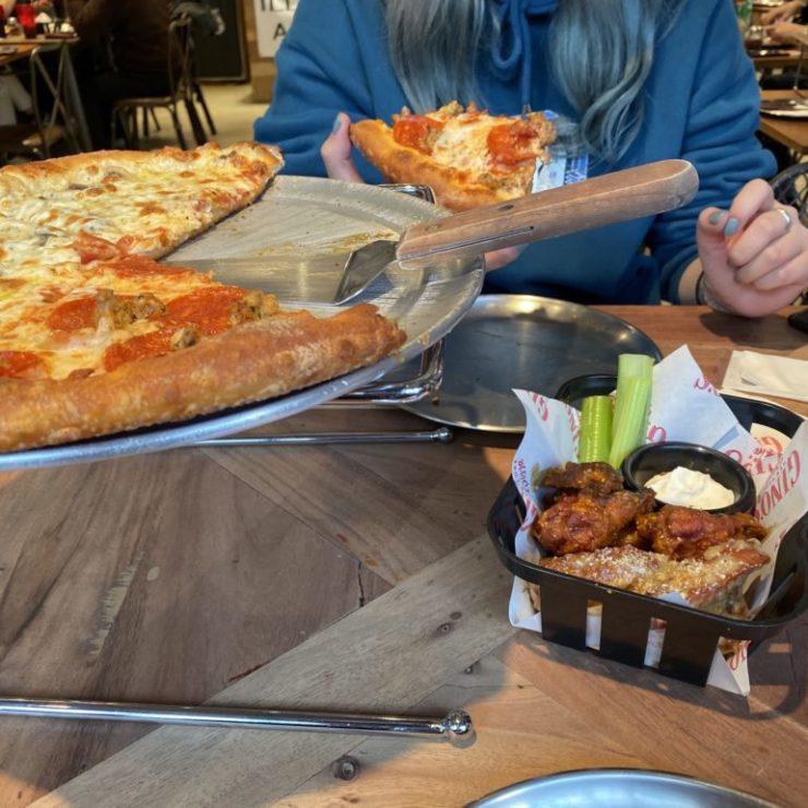 Gino's NY Pizzaミンギュセット