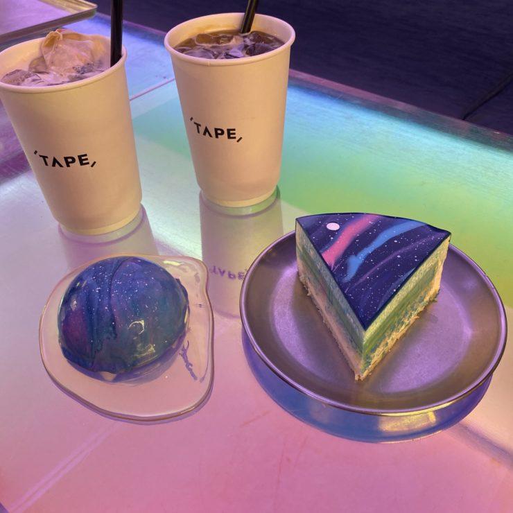 また行きたい! ギャラクシーケーキで有名な梨泰院 ( イテウォン ) のカフェ!「 CAFE TAPE 」