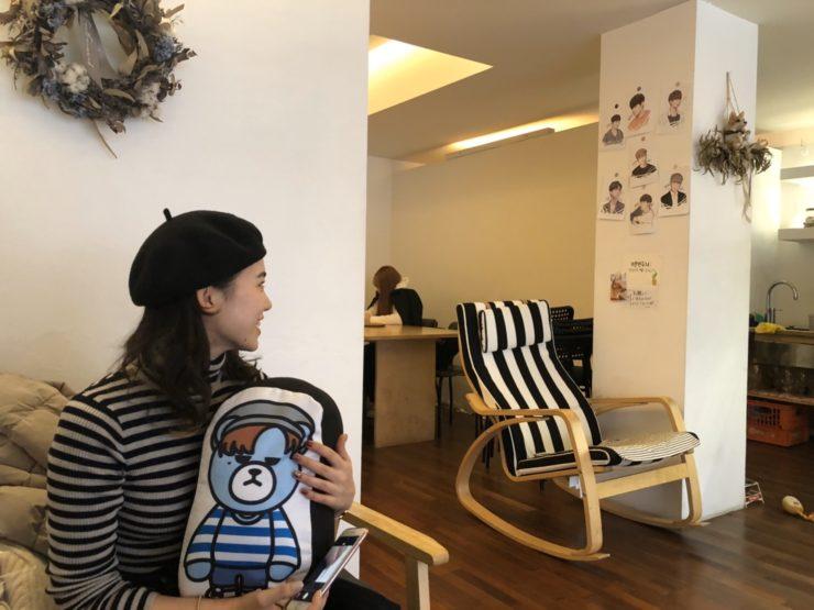 iKONジナンくんのお姉さんのカフェ「PLATTE」