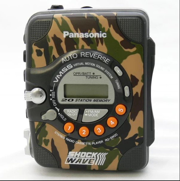 Panasonic SHOCK WAVE 迷彩