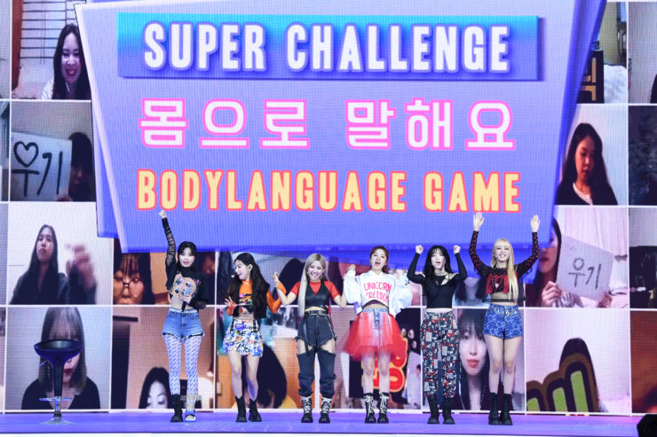 (G)I-DLE ライブレポート in 2020 SUPER ON:TACT by Qoo10