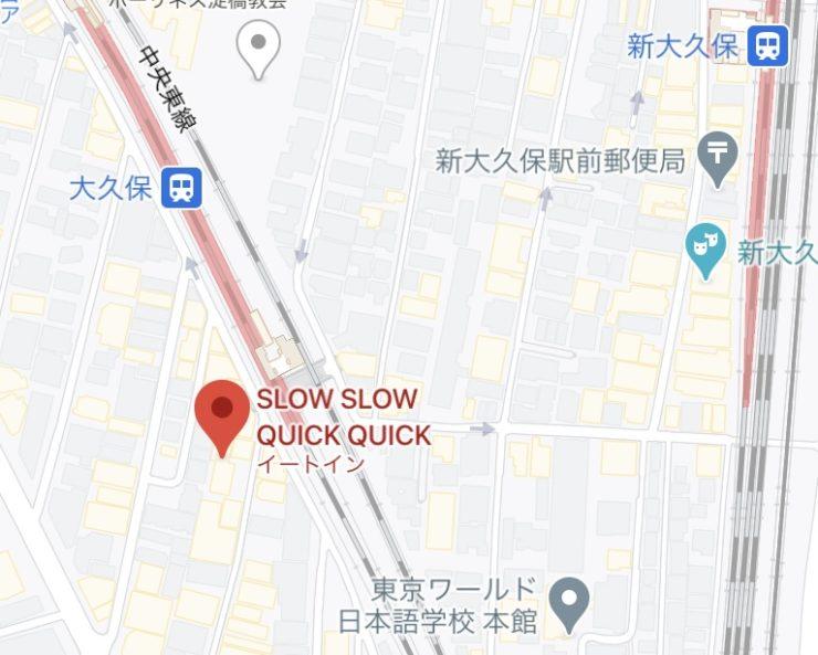 SLOW SLOW QUICK-QUICK-マップ