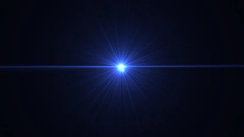 アナモフィックレンズで横に広がる光
