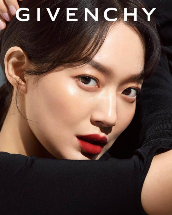 GIVENCHY BEAUTYシン・ミナ