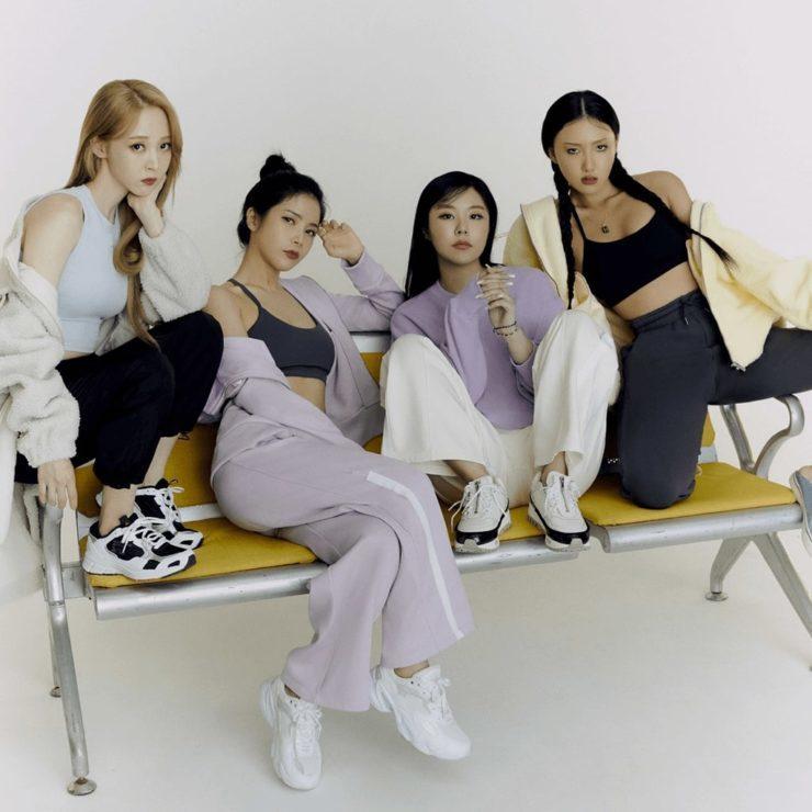 MAMAMOOがブランドアイコンの韓国ヨガウェア「アンダール(andar)」
