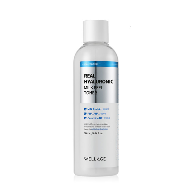 Real Hyaluronic Milk Peel Tone